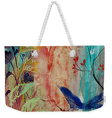 Rhythm And Blues Weekender Tote Bag by Robin Maria Pedrero
