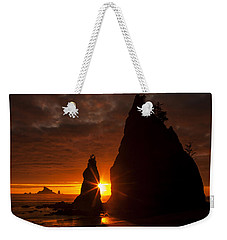 Rialto Beach Sunset Percusion Weekender Tote Bag