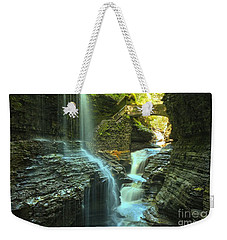 Rainbow Falls Watkins Glen Weekender Tote Bag