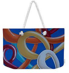 Ribbons In The Sky Weekender Tote Bag