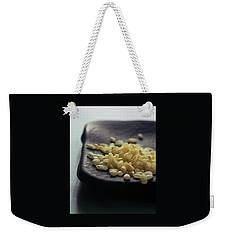 Rice On A Black Plate Weekender Tote Bag