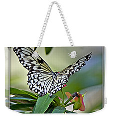 Rice Paper Butterfly 2b Weekender Tote Bag
