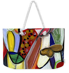 Rich In Character Weekender Tote Bag
