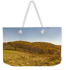 Rich Mountain Autumn Weekender Tote Bag