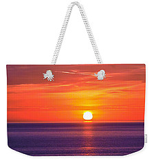 Rich Sunset Weekender Tote Bag by Jocelyn Kahawai