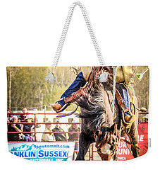 Ride 'em Cowboy Weekender Tote Bag