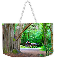 Riding In Style Weekender Tote Bag