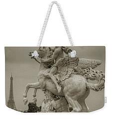 Riding Pegasis Weekender Tote Bag