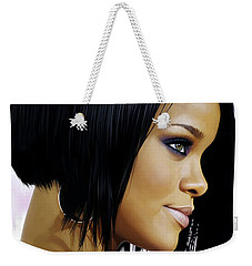 Rihanna Artwork Weekender Tote Bag