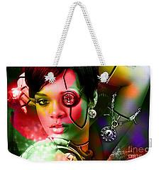 Rihanna Weekender Tote Bag by Marvin Blaine