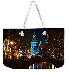 Rijksmuseum At Night Weekender Tote Bag