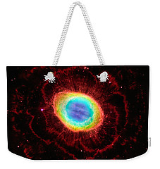Ring Nebula's True Shape Weekender Tote Bag