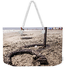 Weekender Tote Bag featuring the photograph Ringer by Sennie Pierson