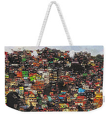 Rio Weekender Tote Bag by Galen Valle