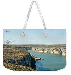 Weekender Tote Bag featuring the photograph Rio Grande by Erika Weber