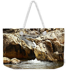 Rio On Pools Weekender Tote Bag by Kathy McClure