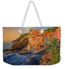 Riomaggiore Amore Weekender Tote Bag