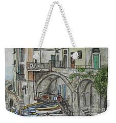 Riomaggoire Cinque Terre Italy Weekender Tote Bag