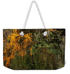 Ripples And Reflections Weekender Tote Bag by Vivian Christopher