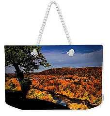 Weekender Tote Bag featuring the photograph Rise And Look Around You by Robert McCubbin