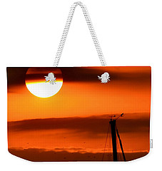 Rise And Shine Weekender Tote Bag by Deena Stoddard