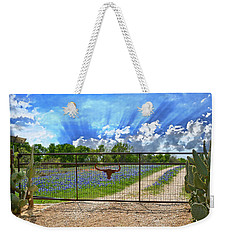 Rise And Shine Weekender Tote Bag by Lynn Bauer