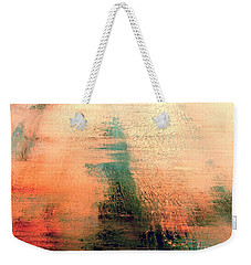 Weekender Tote Bag featuring the painting Rise by Jacqueline McReynolds