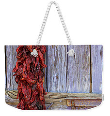 Weekender Tote Bag featuring the photograph Ristra by Lynn Sprowl