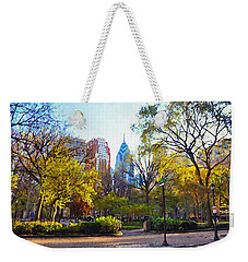 Rittenhouse Square In The Spring Weekender Tote Bag