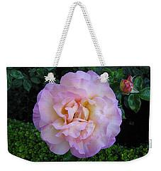 Ritzy Pink Rose Weekender Tote Bag