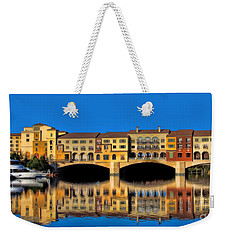 Ritzy Weekender Tote Bag by Tammy Espino