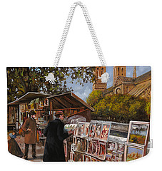Rive Gouche Weekender Tote Bag by Guido Borelli