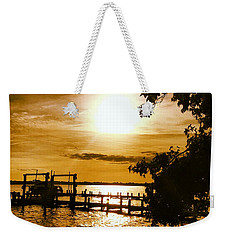 River Acres Jaynes Sunset Weekender Tote Bag