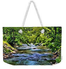River At Dillsboro Weekender Tote Bag by Kenny Francis