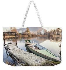 River Boat Weekender Tote Bag