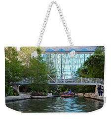 Weekender Tote Bag featuring the photograph River Boating  by Shawn Marlow