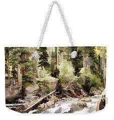 River Boulders Weekender Tote Bag