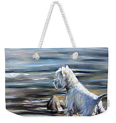 River Boy Weekender Tote Bag by Mary Sparrow