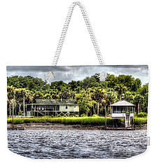 River House On Wimbee Creek Weekender Tote Bag