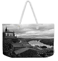 River Mino And Portugal From Tui Bw Weekender Tote Bag