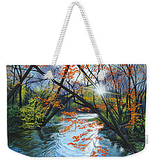 River Of Joy Weekender Tote Bag