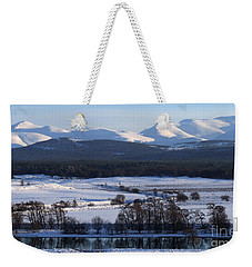 River Spey And Cairngorm Mountains Weekender Tote Bag
