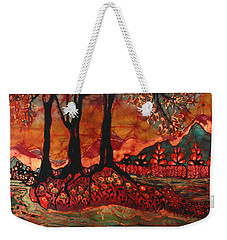 River Sunrise - Lothlorien Weekender Tote Bag
