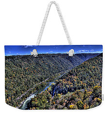 River Through The Hills Weekender Tote Bag by Jonny D