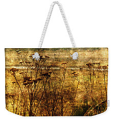 Weekender Tote Bag featuring the photograph River View by Liz  Alderdice