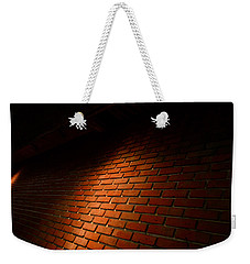 River Walk Brick Wall Weekender Tote Bag