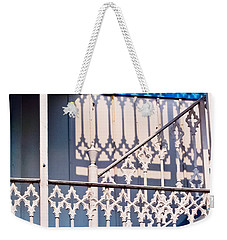 Riverboat Railings Weekender Tote Bag