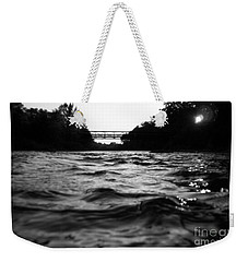 Weekender Tote Bag featuring the photograph Rivers Edge by Michael Krek