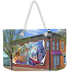 Riverside Gardens Park In Red Bank Nj Weekender Tote Bag