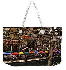Weekender Tote Bag featuring the photograph Riverview by Deborah Klubertanz